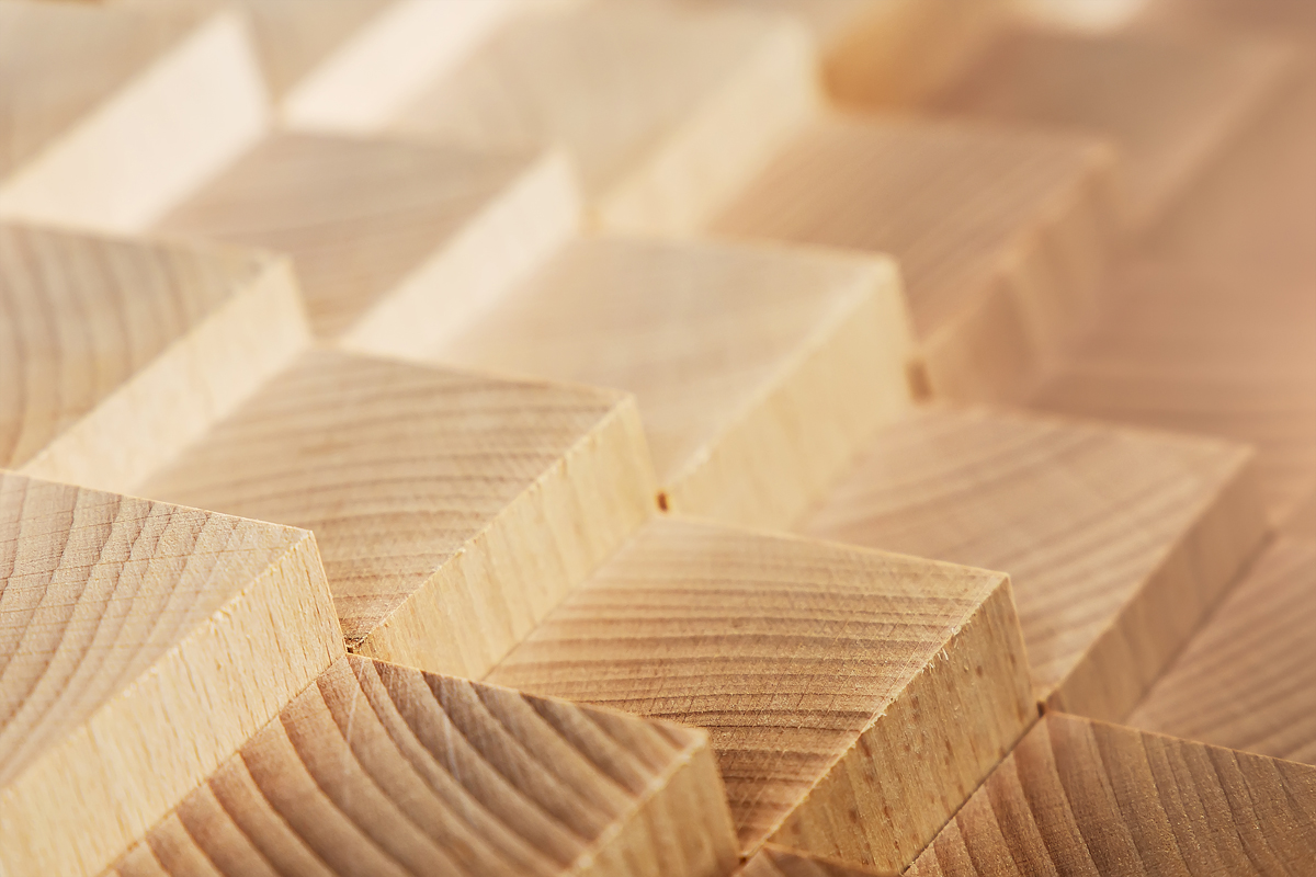 forest products-milled wood blocks